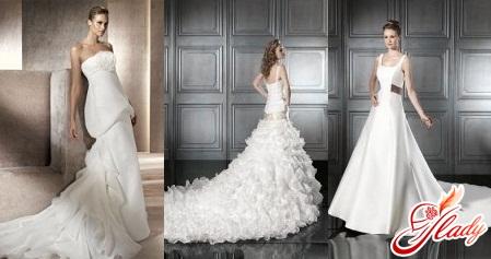 свадебные платья 2016 со шлейфом
