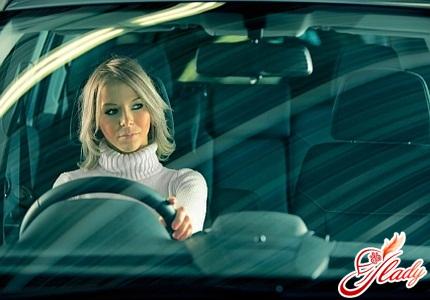 Секс во время вождения авто