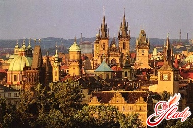 путешествие по европе на автомобиле по чехии