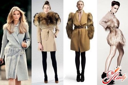 модные шерстяные женские пальто