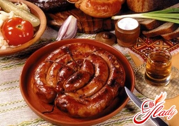 рецепти домашньої ковбаси
