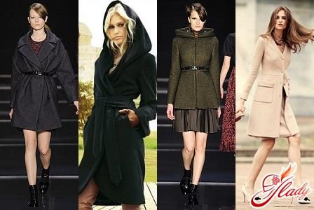 шерстяные женские пальто