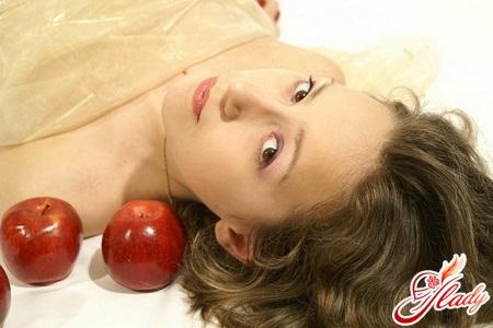 маска из яблока