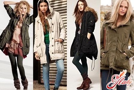 купить женскую куртку парку