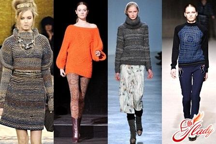 модели женских свитеров 2016