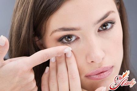контактные линзы ночные