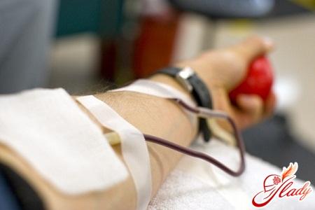 переливание крови из вены в ягодицу
