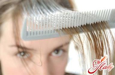 себорея волосистой части головы