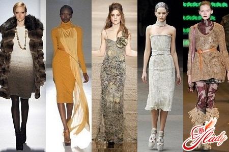 Модні сукні 2011 2012 колірна гамма і