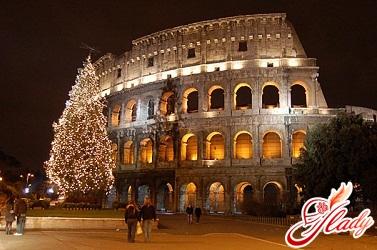 как встречать новый год в италии