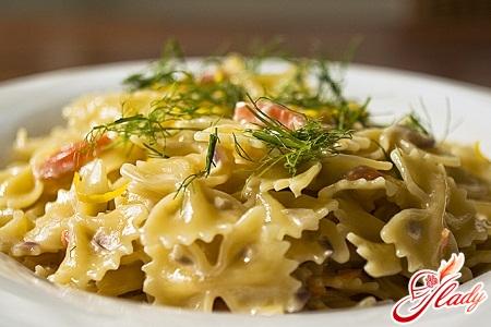 рецепт итальянской пасты