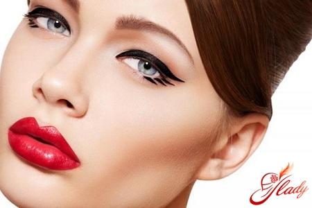 красивые стрелки макияж
