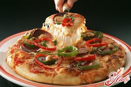 время приготовления пиццы