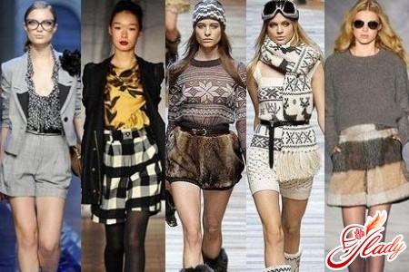 модели с завышенной талией зимних женских шорт