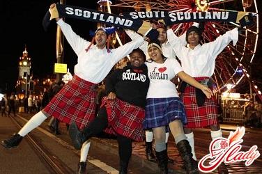 как встречать новый год в шотландии