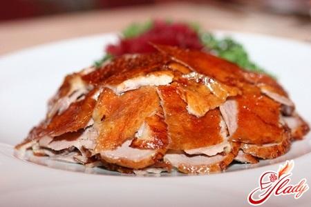 утка по пекински рецепт