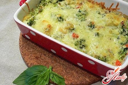 Рецепт овощной запеканки