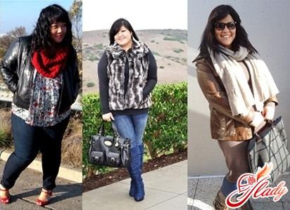 зимняя одежда из европы для полных женщин