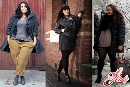 зимняя верхняя одежда для полных женщин фото