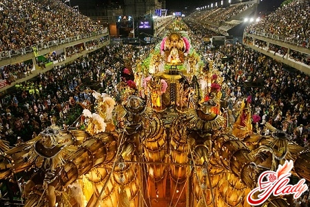 история бразильского карнавала