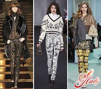 женские брюки 2016 - новинки