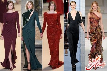 вечерние платья 2016