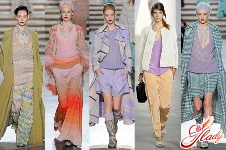модные пастельные цвета 2016