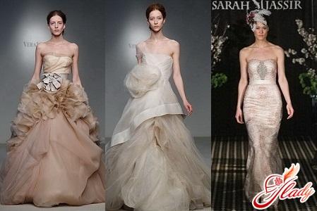 платья свадебные 2012