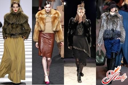 модные женские полушубки