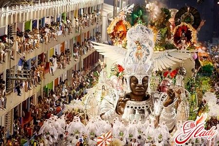 бразильский карнавал в рио