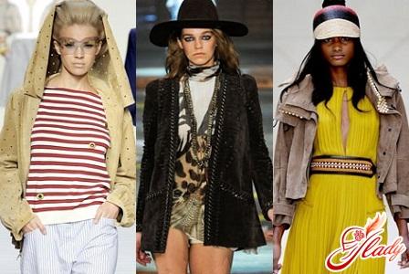 женские куртки в стиле 70-х весна