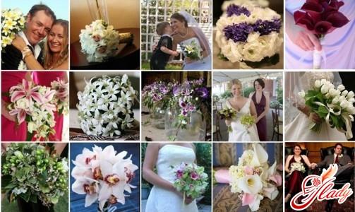 весільні букети для нареченої фото