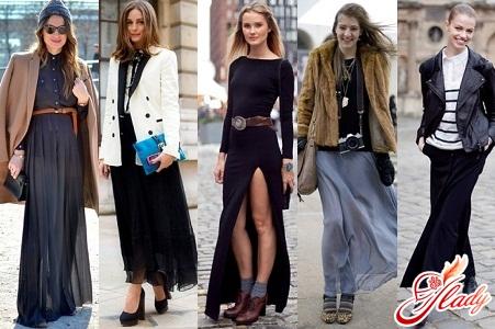 длинные юбки 2012