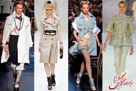 самые модные плащи весна 2012 года
