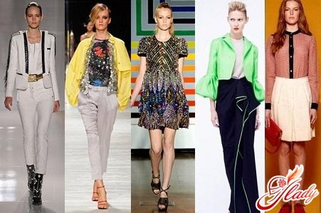 модная одежда для девушек весна лето 2012