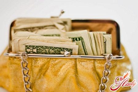 цвет кошелька для привлечения денег
