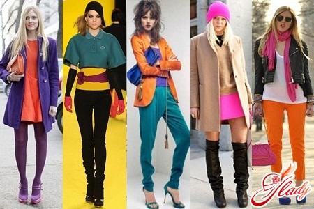 модные цвета в одежде 2012 весна лето