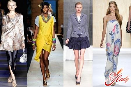 что модно носить в сезоне весна лето 2012