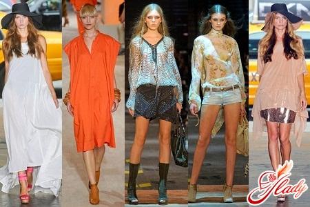 выбрать модную тунику весна 2012