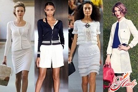 с чем носить модный кардиган