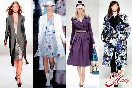 модные кожаные плащи весна 2012