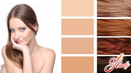 Как покрасить волосы темные в рыжий