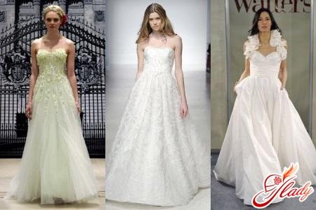 Свадебная мода весна-лето 2016: модный тренд – платья А-силуэта