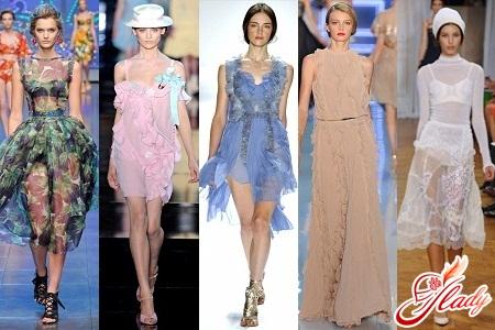 модные коллекции одежды сезона весна лето 2012