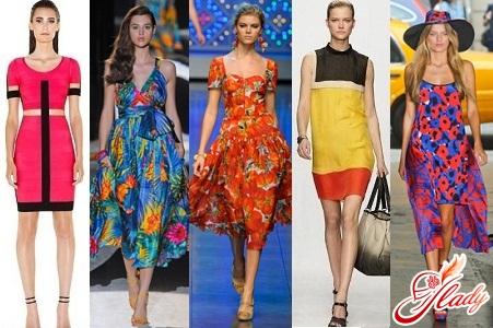 модные коллекции одежды - принты весна лето 2012