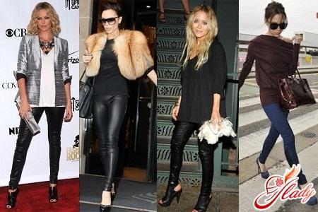 леггинсы женские с чем носить