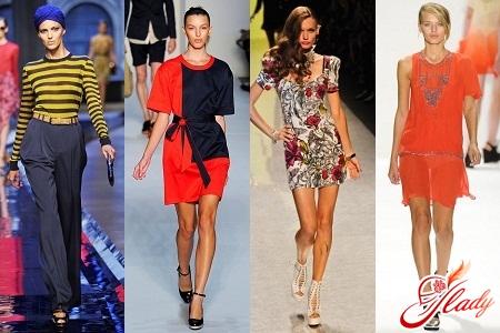 модная одежда весна лето 2012