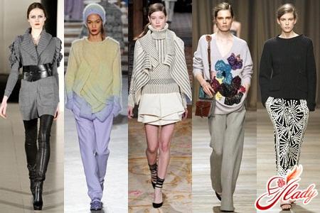 модные вязаные вещи 2012 схемы