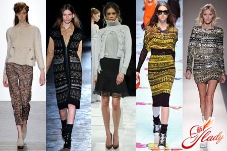 вязаные модные вещи на сезон 2016