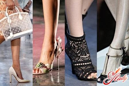 модные туфли на высоком каблуке 2016